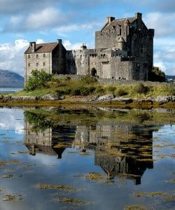 Eilean Donan Castle on a private multi-day tour of Scotland