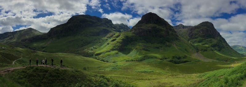 Scottish Guided Tours homepage