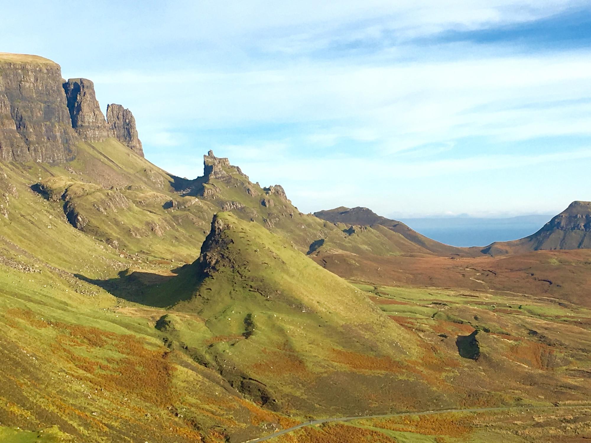 Isle of Skye view point