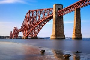 Forth Rail Bridge on our Loch Ness Day Tour from Edinburgh