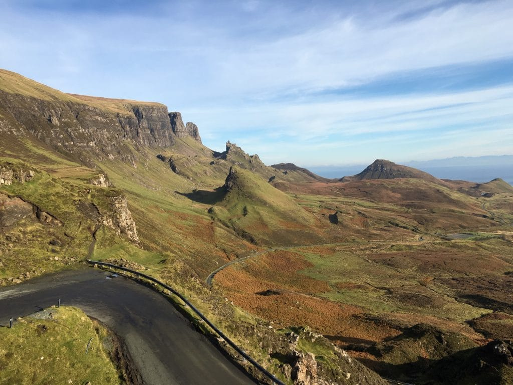 Quiraing area of Skye