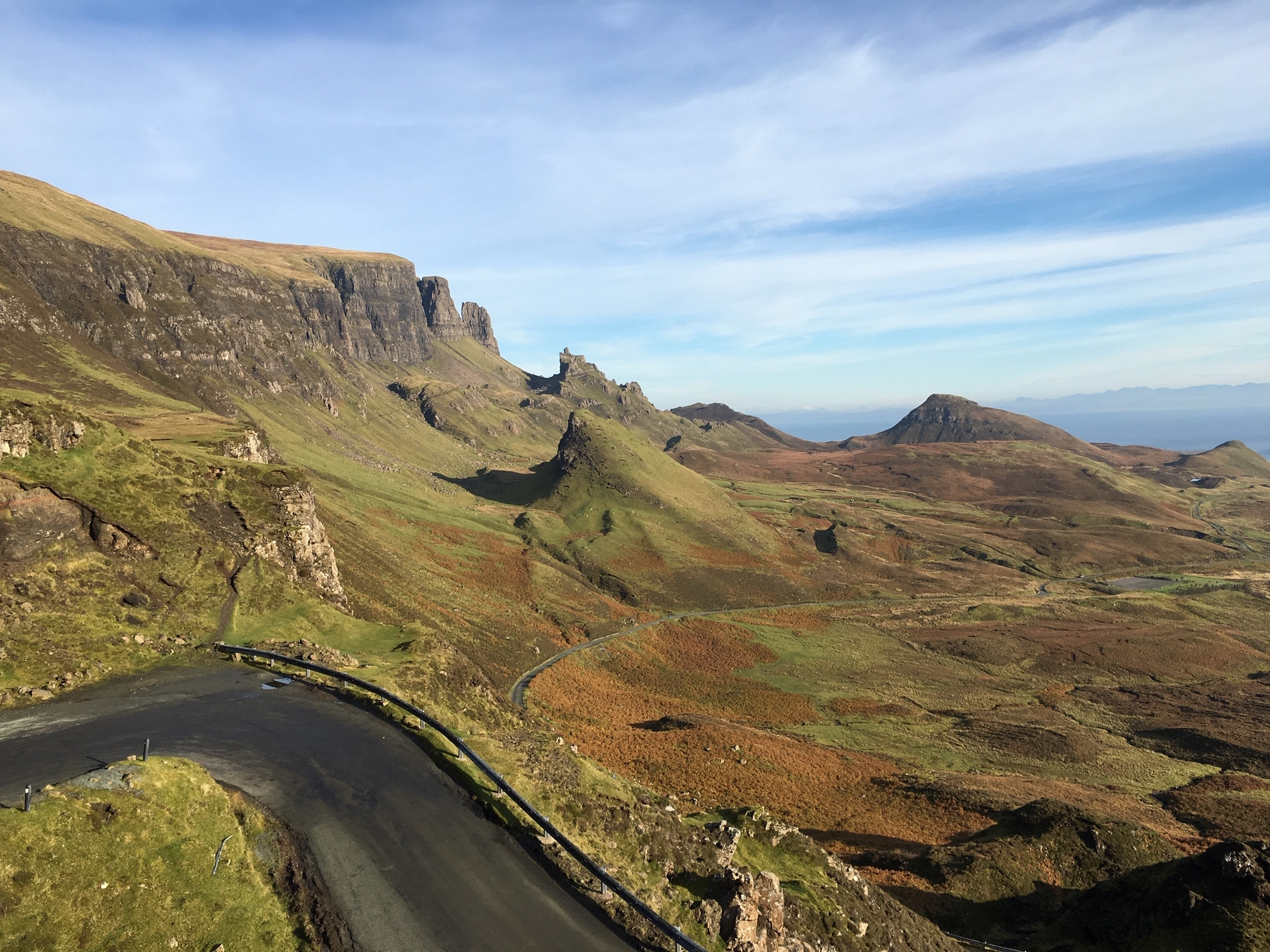 The road up the Quiraing