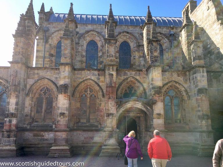 Rosslyn Chapel from Edinburgh