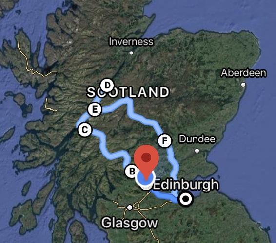 Loch Ness Day Tour from Edinburgh