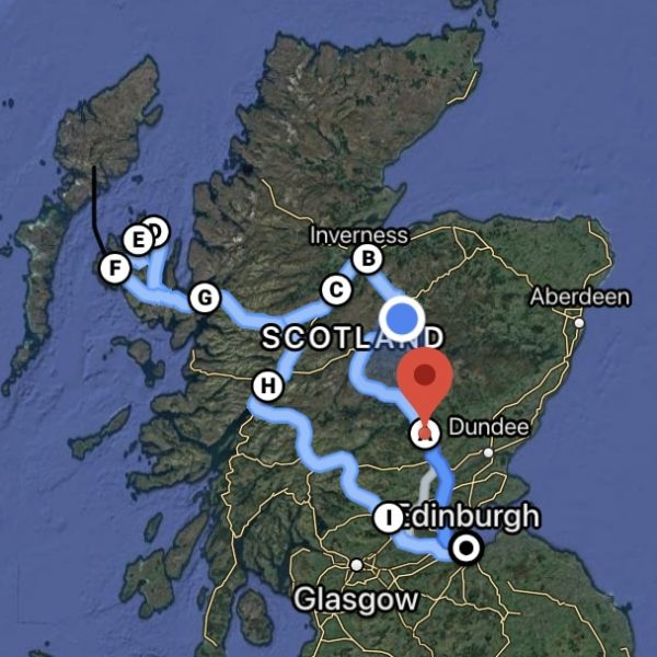 Isl of Skye Tour from Edinburgh